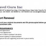 PASSPORT REQUIREMENTS RENEWAL