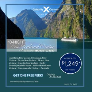10 Night New Zealand Cruise